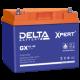 Аккумуляторная батарея DELTA GX 12V-45AH Xpert