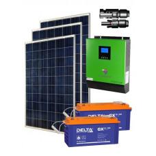 Автономная солнечная электростанция 600 Вт∙ч/сутки