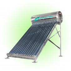 Солнечный водонагреватель с DVT трубками 120 литров Эконом